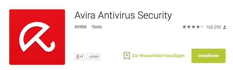 Virenscanner Smartphone